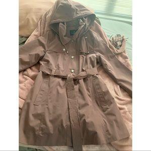 London Fog soft shell trench coat